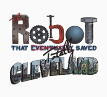 Robot Logo Main Kids Tee