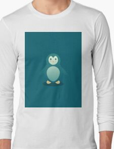 Charles the happy Pinguin Long Sleeve T-Shirt