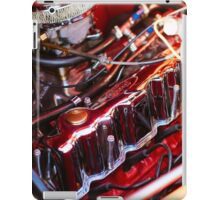 Vintage Ford coupe engine iPad Case/Skin