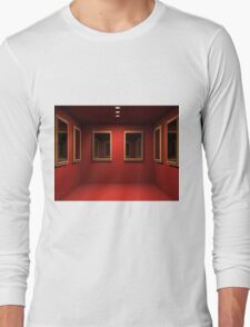 3D room  Long Sleeve T-Shirt