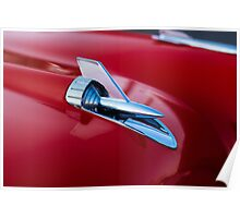 Hood ornament detail Poster