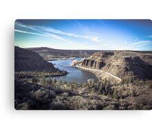 Winding Canyon Canvas Print