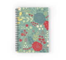 Happy Floral  Spiral Notebook