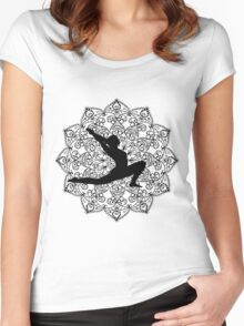 Hatha Yoga Women's Fitted Scoop T-Shirt