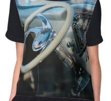Custom Chevy truck dashboard Chiffon Top