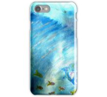 funky freaky fish iPhone Case/Skin