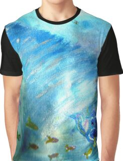 funky freaky fish Graphic T-Shirt
