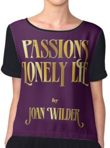 Passions Lonely Lie Chiffon Top