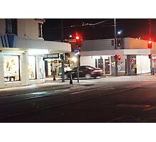 Night Scene Three - Intersection Photographic Print