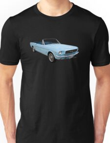 Sixty Four and a Half Mustang Convertible Miss B Unisex T-Shirt