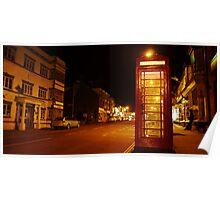 Night Phone Box Poster