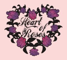 Heart of roses Kids Tee