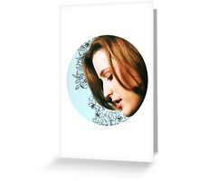 Flower Scully Greeting Card