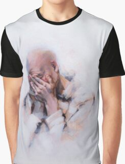 Figurative-Portraiture Graphic T-Shirt