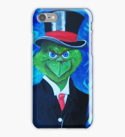 Voodoo Grinch iPhone Case/Skin