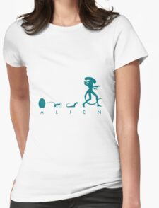 Growing Up Womens Fitted T-Shirt
