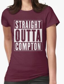 STRAIGHT OUTTA COMPTON Womens Fitted T-Shirt