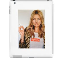 Supreme Kate Moss iPad Case/Skin