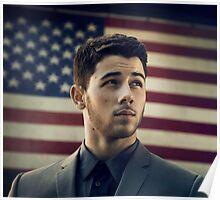 nick jonas american tour Poster