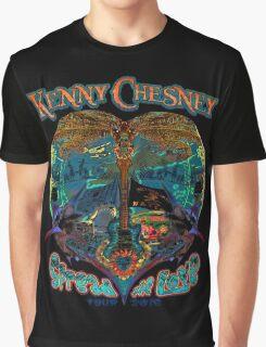 kenny chesney spread love 2016 black Graphic T-Shirt
