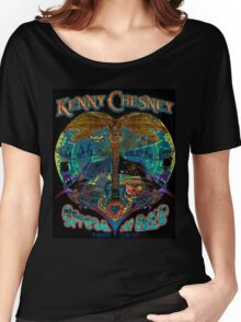 kenny chesney spread love 2016 black Women's Relaxed Fit T-Shirt