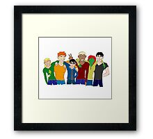 YJ Team - We'll Laugh About This Framed Print