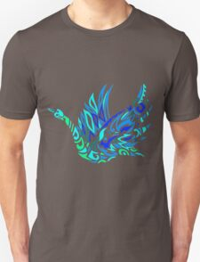 Glass Swan Unisex T-Shirt