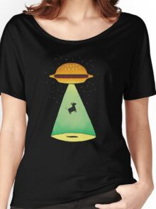 Burger Abduction Women's Relaxed Fit T-Shirt