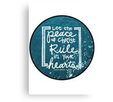Christian Quote Canvas Print