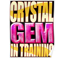 Crystal GEM In Training Poster