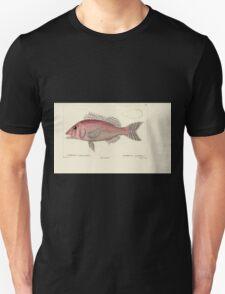 Natural History Fish Histoire naturelle des poissons Georges V1 V2 Cuvier 1849 088 Unisex T-Shirt