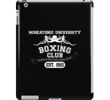 Miskitonic University Boxing Club iPad Case/Skin