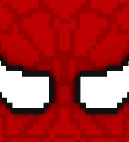 Cube Spider-Man Sticker