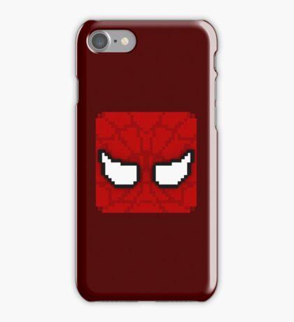 Cube Spider-Man iPhone Case/Skin