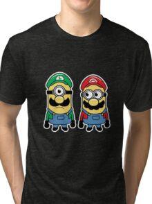 Mario and luigi Tri-blend T-Shirt