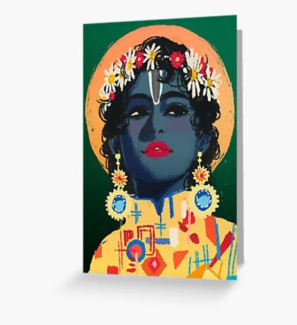 Original Work - Vishnu Greeting Card