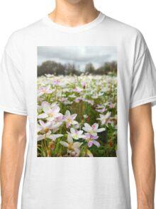 Close Up of Spring Beauties  Classic T-Shirt