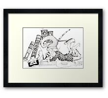 """Once upon a time..."" Framed Print"