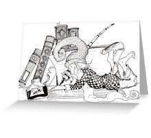 """""""Once upon a time..."""" Greeting Card"""