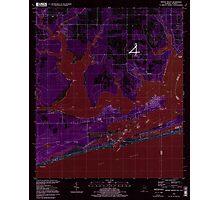 USGS TOPO Map Alabama AL Orange Beach 304754 1994 24000 Inverted Photographic Print