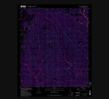 USGS TOPO Map Alabama AL Dogwood Creek 303684 1994 24000 Inverted Unisex T-Shirt