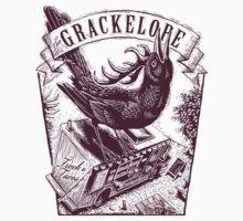 The Grackelope (maroon) One Piece - Long Sleeve