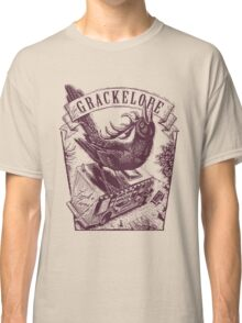 The Grackelope (maroon) Classic T-Shirt