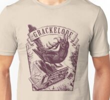 The Grackelope (maroon) Unisex T-Shirt
