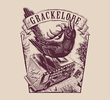 The Grackelope (maroon) Unisex T-Shirt