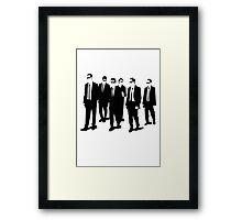Reservoir Dogs Scene Framed Print