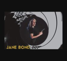 Gillian Anderson for Jane Bond One Piece - Long Sleeve