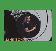 Gillian Anderson for Jane Bond Baby Tee