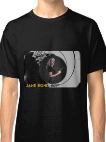 Gillian Anderson for Jane Bond Classic T-Shirt
