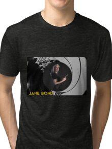 Gillian Anderson for Jane Bond Tri-blend T-Shirt
